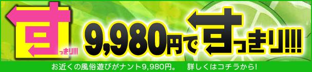 9,980円でスッキリ